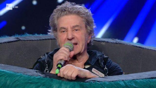 Il cantante mascherato diretta 31 gennaio - Fausto Leali è il mostro
