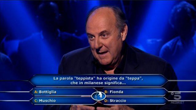 Chi vuol essere milionario diretta 29 gennaio - Gerry Scotti risponde alla domanda