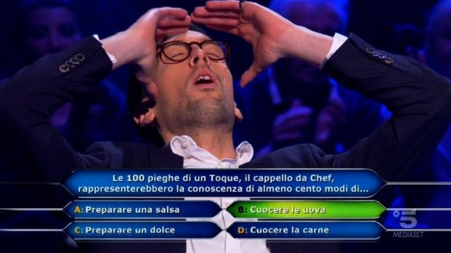 Chi vuol essere milionario? 22 gennaio - Enrico Remigio raggiunge i 150mila euro