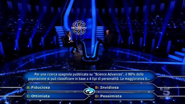 La nuova ottava domanda per Beatrice Amorosi dopo lo switch