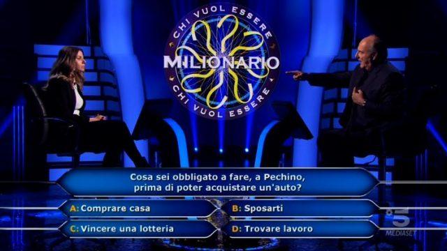 La domanda numero nove da 15mila euro e la decima da 20mila di Beatrice Amorosi