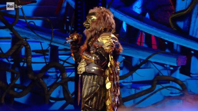 Chi è il leone de Il cantante mascherato su Rai 1
