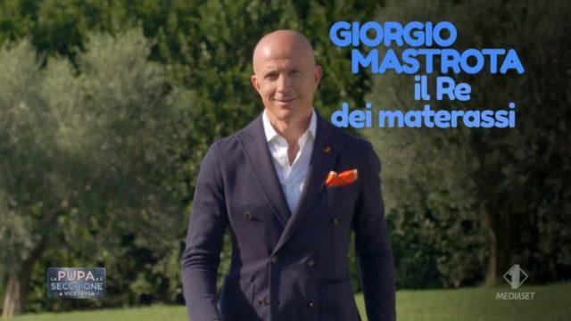 La pupa e il secchione e viceversa 14 gennaio diretta - La prova materasso con Giorgio Mastrota