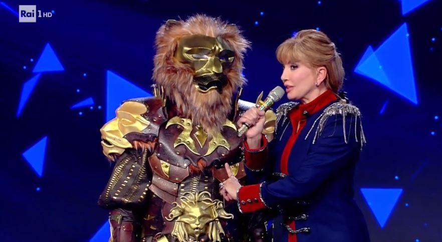 Il cantante mascherato 24 gennaio diretta - Curiosità per la maschera del leone