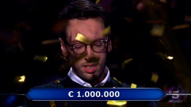 Chi vuol essere milionario diretta 29 gennaio - Enrico Remigio vince un milione di euro