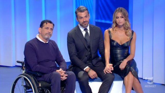 C'è posta per te diretta 11 gennaio - Luciano con Luca Argentero e Cristina Marino