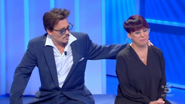 C'è posta per te diretta 11 gennaio - Johnny Depp e la storia di Rosa