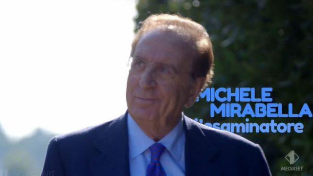Michele Mirabella esaminatore della prova di anatomia