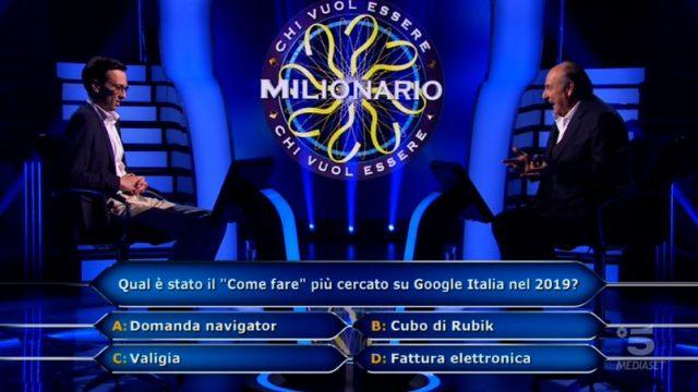 Chi vuol essere milionario? - Enrico Remigio risponde alla nona domanda