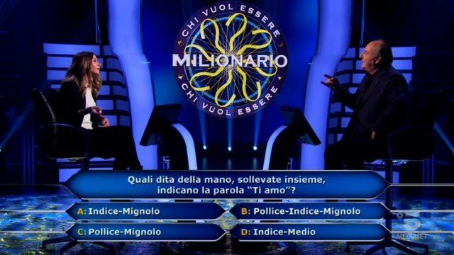 La seconda domanda per Beatrice Amorosi