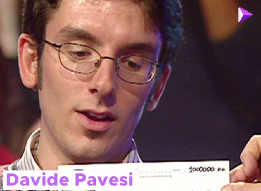 Chi vuol essere Milionario Davide Pavesi