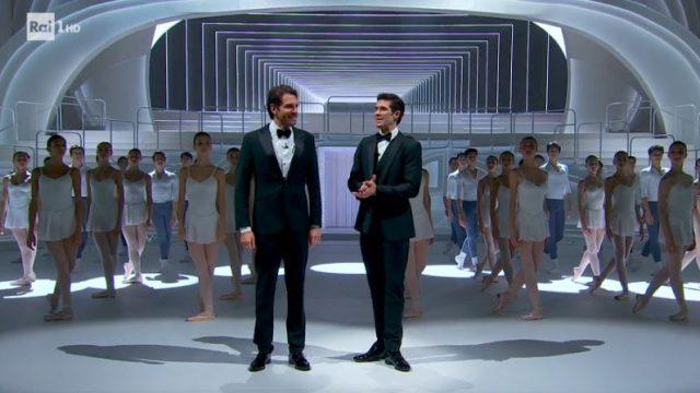 Danza con me Roberto Bolle - Apertura con Giampaolo Morelli, marracash, Cosmo e Geppi Cucciari