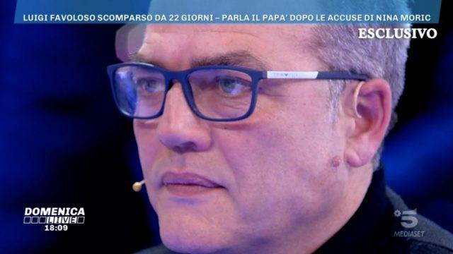 Live non è la D'Urso 26 gennaio Il padre di Luigi Favoloso