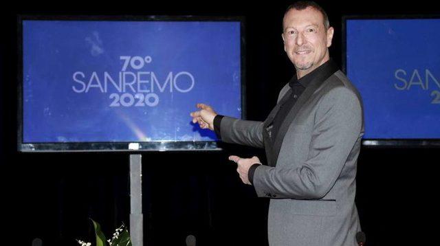Sanremo 2020 Rai1 2 Rai2 Amadeus