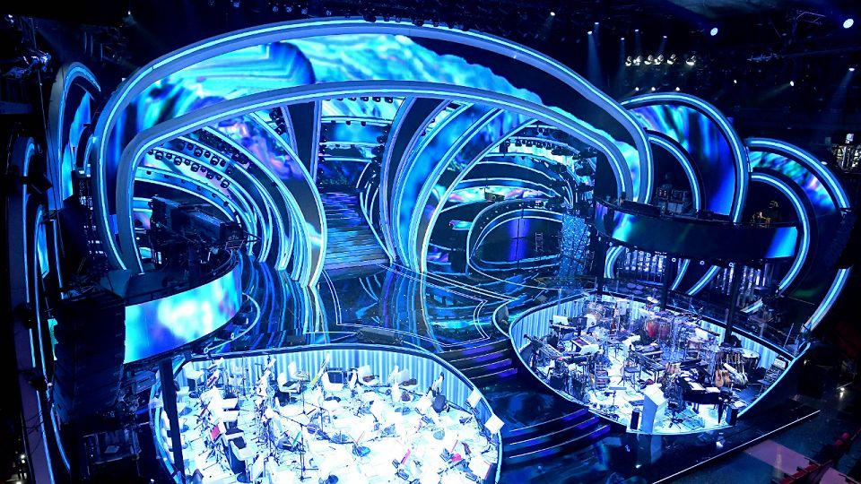 Sanremo 2020 DietroFestival scenografia