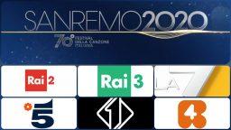 Sanremo 2020 controprogrammazione