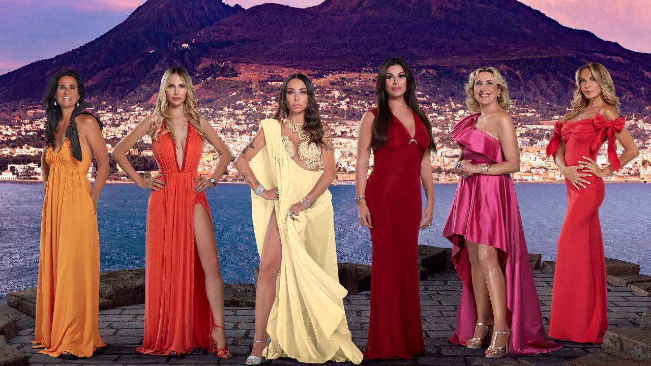 the real housewives di napoli diretta 24 gennaio