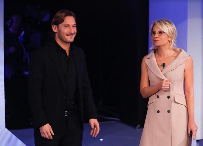 C'è posta per te puntata 22 febbraio Francesco Totti
