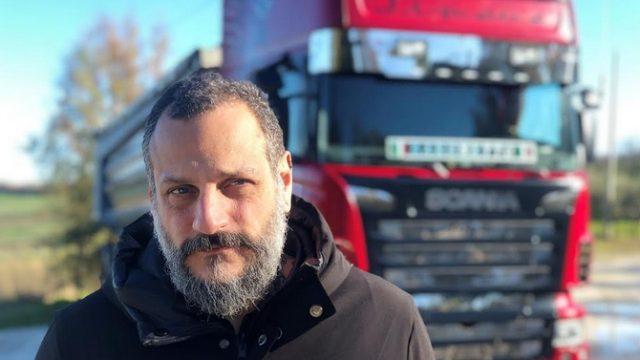 Camionisti in trattoria con Misha Sukyas