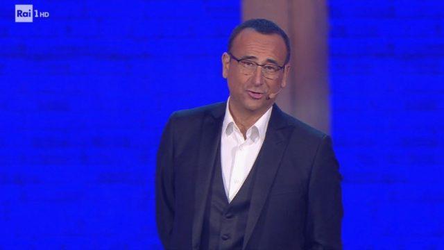 Carlo Conti presentatore del Montale e quale show