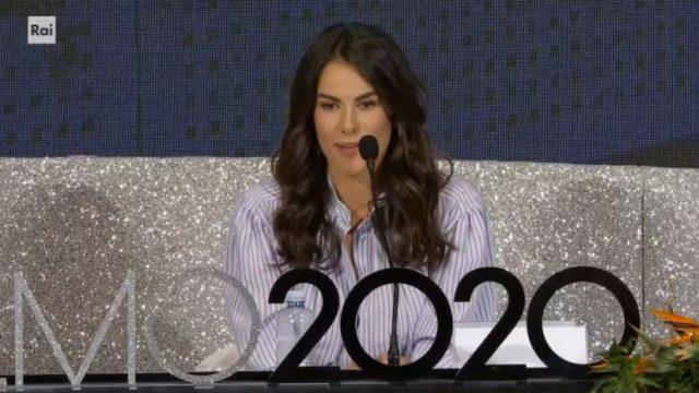 Sanremo 2020 conferenza stampa 7 febbriao diretta - Francesca Sofia Novello