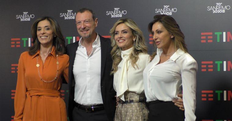 Sanremo 2020 seconda serata 5 febbraio - Conduttrici e ospiti