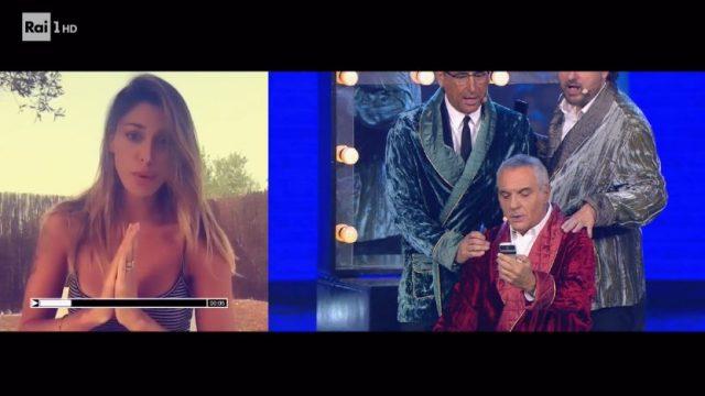 Panariello Conti Pieraccioni lo show diretta 14 febbraio - Belen Rodriguez