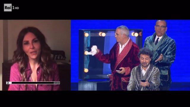 Panariello Conti Pieraccioni lo show diretta 14 febbraio - Sabrina Ferilli