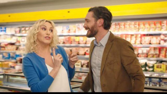 Il video della pubblicità con Antonella Clerici