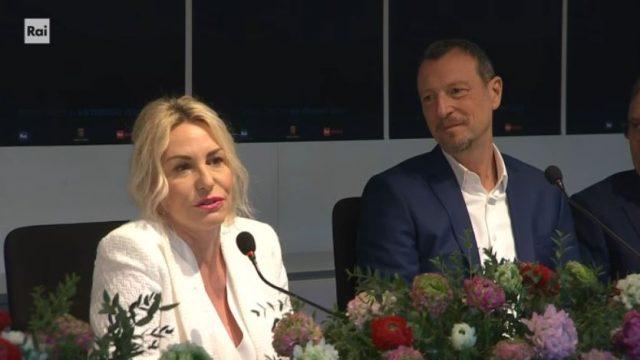 Sanremo 2020 conferenza stampa 7 febbraio diretta - Parlano le conduttrici della quarta serata Antonella Clerici e Francesca Sofia Novello