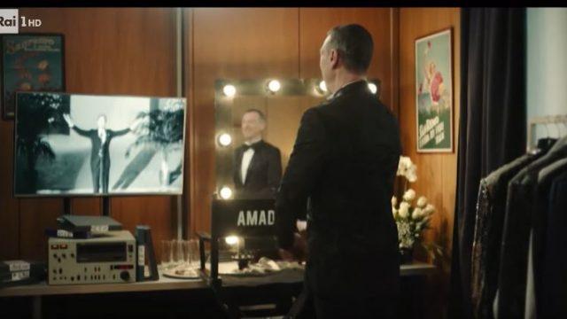 Spot in TV Sanremo 2020 Amadeus - La vigilia in camerino del conduttore
