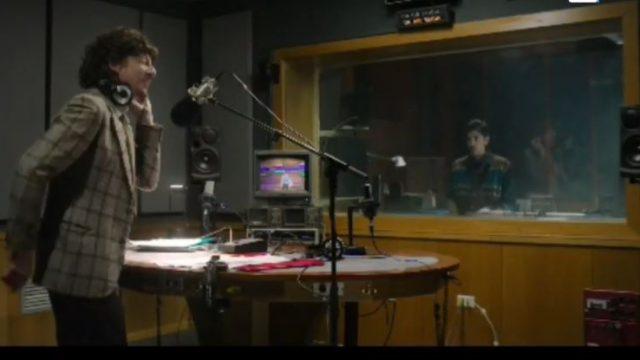 Il giovane Amadeus speaker radiofonico