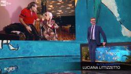 Che tempo che fa Luciana Morgana