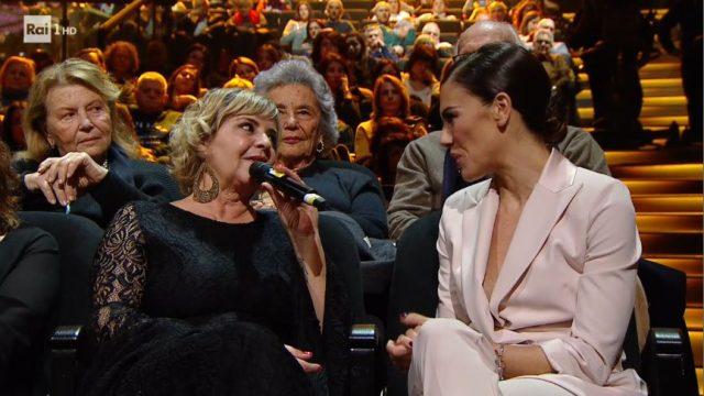 Claudia la figlia di Sergio Endrigo con Bianca Guaccero