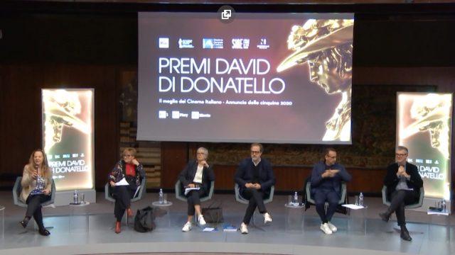 David di Donatello 2020 conferenza stampa