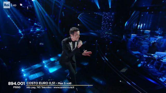 Sanremo 2020 diretta quinta serata 8 febbraio - Diodato
