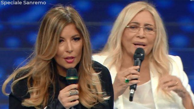 Domenica in speciale Sanremo Lucarelli contestata