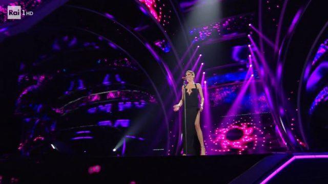 Sanremo 2020 look 8 febbraio Elodie