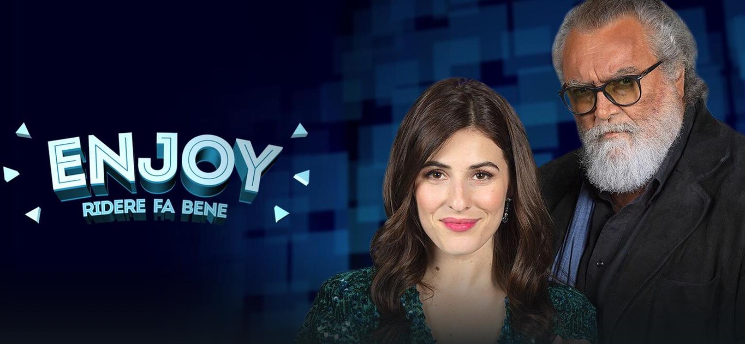 Enjoy ridere fa bene diretta 9 febbraio - Con Diana Del Bufalo e Abatantuono