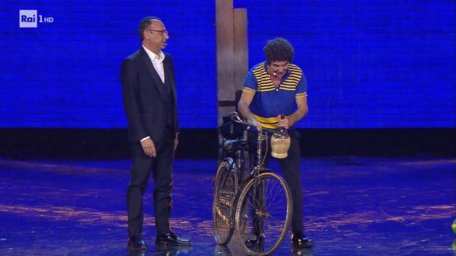 Giorgio Panariello torna ad interpretare lo storico personaggio Merigo