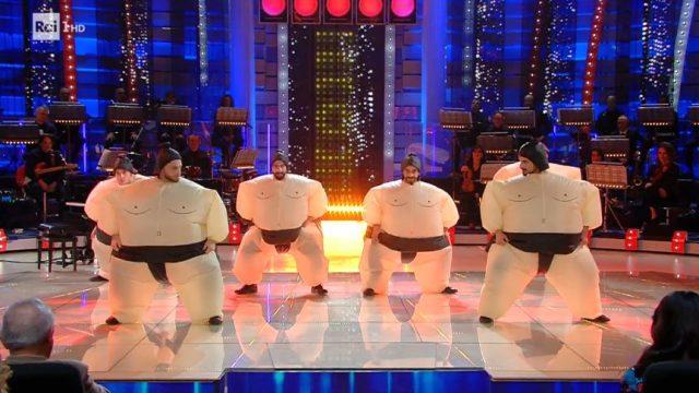 La Corrida diretta 28 febbraio - Terzi concorrenti i Sumo Smash