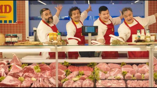 Il reparto macelleria del supermercagto MD