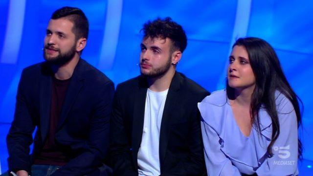 Armando, Samuele e Jessica