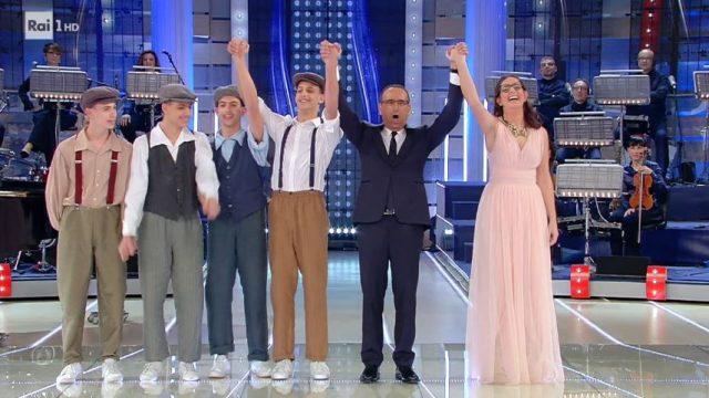La Corrida diretta 21 febbraio - la vittoria ex aequo di Valentina Arbanti e I Gemelli Milano