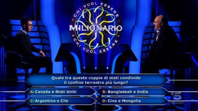 Marco Mancini raggiunge il primo traguardo e risponde alla sesta domanda