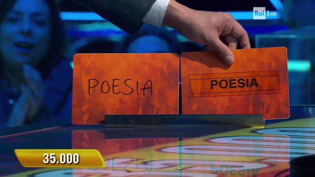 L'eredità campionessa Benedetta 35000 euro ghigliottina