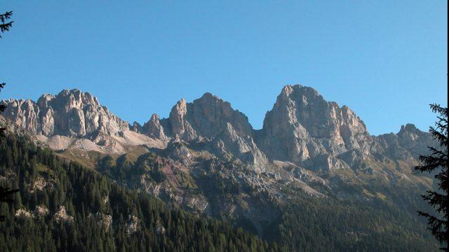 Linea bianca 1 febbraio Ossini a Falcade nell'alta Val Biois