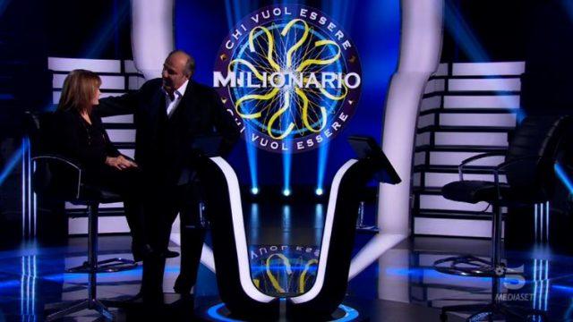 Chi vuol essere milionario diretta 19 febbraio - Maria Cristina De Gregorio arriva in studio e ricomincia la scalata
