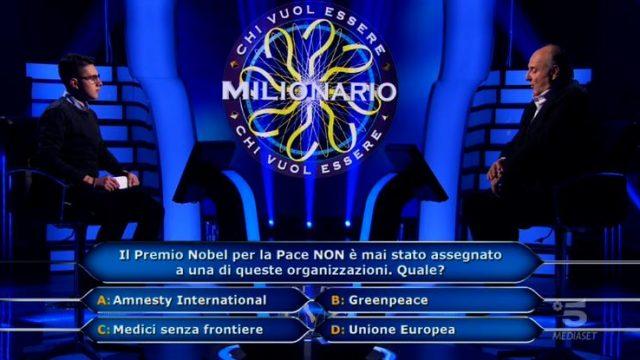 Chi vuol essere milionario diretta 19 febbraio - Marco Mancini vince 10mila euro