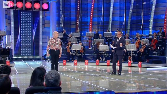 La Corrida diretta 21 febbraio - Terzo concorrente Osvaldo Ravaioli da Forlì